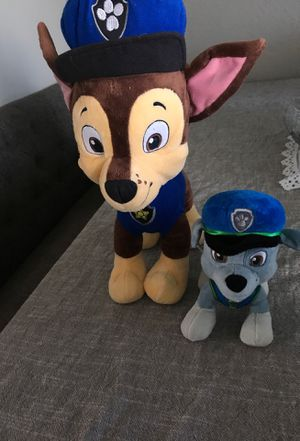 paw patrol plushies for Sale in Ontario, CA