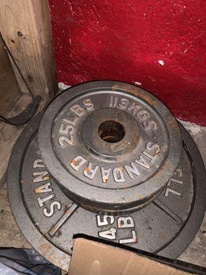 Standard weights for Sale in Edinburg, TX