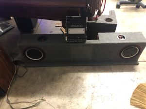 """2 10"""" PUNCH and Kenwood Amp for Sale in Covina, CA"""