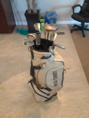 9 Ping Zing clubs with a copperhead number 5 punter for Sale in Woodbridge, VA