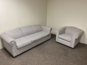Sleeper sofa and chair set for Sale in Oshkosh, WI