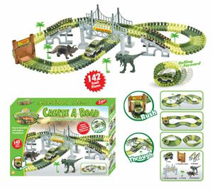 JURASSIC RACE CAR TRACKS. CHOOSE THE ONES YOU LIKE 2 X 30 DOLLARS for Sale in Woodland Hills, CA