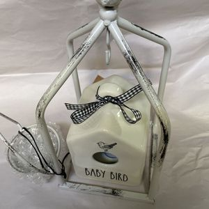 Tea Light Holder for Rae Dunn Mini Bird House for Sale in Houston, TX