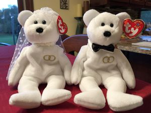 Ty Beanie Babies Wedding Mr. and Mrs.-NWT for Sale in Granville, OH