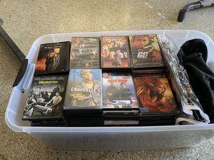 Bin of over 160 DVD's for Sale in Moreno Valley, CA