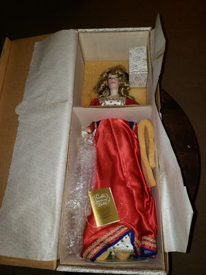 Franklin Mint Heirloom collectible doll for Sale for sale  College Park, GA