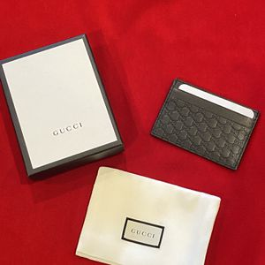 Brand New Black Gucci Card Holder for Sale in Santa Ana, CA