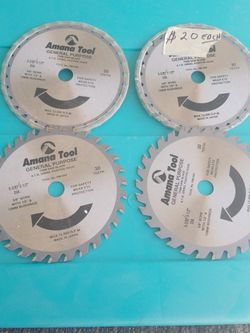 """Amana Tool Saw blades. 5-3/8"""" 5-1/2"""" for Sale in Victorville,  CA"""