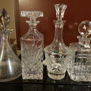 Crystal Decanters for Sale in Seattle, WA