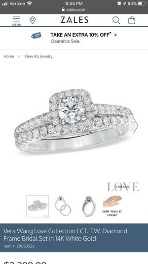 Love Collection 1 CT T.W Bridal Set 14k Gold for Sale in Moseley, VA