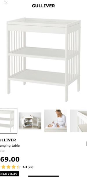 IKEA changing table for Sale in San Jose, CA