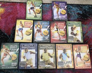Assortment of Billy's Bootcamp DVDs for Sale in Bethesda, MD