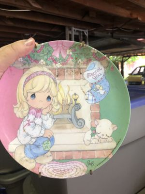 Precious moments plate for Sale in Salt Lake City, UT