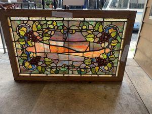 Antique Tiffany leaded stain glass windows for Sale in Philadelphia, PA