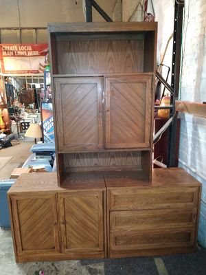 Thomasville/Huntley 3 Piece Set Cabinet,Drawer,Shelf Hutch for Sale in St. Louis, MO
