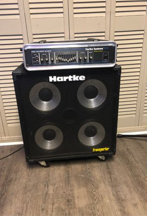 Hartke bass half stack for Sale in Rockmart, GA