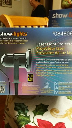 Laser light projector with remote control for Sale in Phoenix, AZ