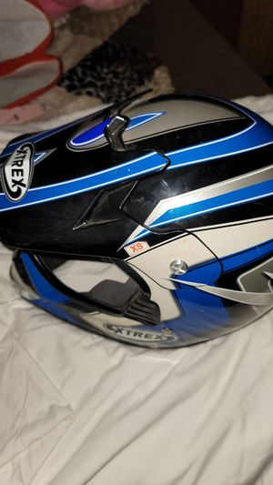 XTREX MOTORCYCLE HELMET size XS for Sale in Moreno Valley, CA
