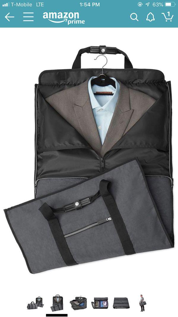 Biaggi Two-In-One Garment Bag and Duffle - Compact Duffle 22-Inch