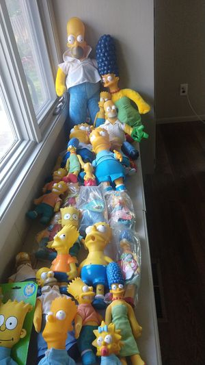 The Simpsons figures for Sale in Saint Paul, MN