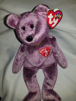 Ty beanie babies 2000 bear for Sale in North Highlands, CA
