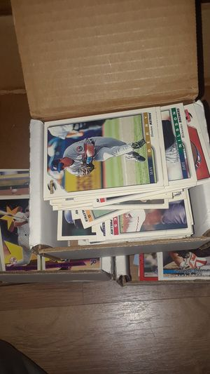 LARGE collection of baseball cards!!!!! for Sale in Chula Vista, CA