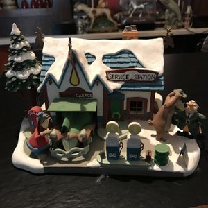 Disney North Pole Service Station Christmas Display for Sale in Seattle, WA