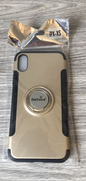 iPhone X XS Case Gold for Sale in Sycamore, IL