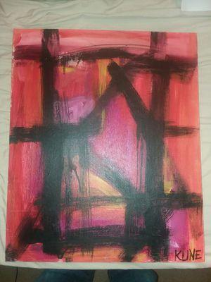 Franz Kline oil painting on canvas for Sale in Joplin, MO