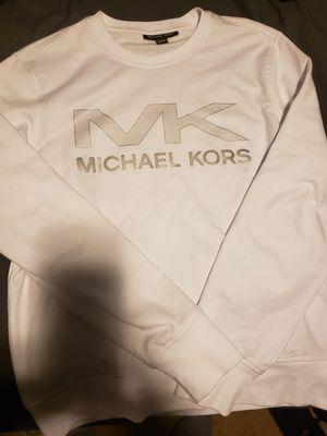 Michael Kors White Men's Light Crew for Sale in Dallas, TX