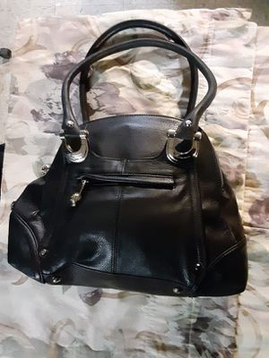 Black leather B MAKOWSKY purse for Sale in Palos Hills, IL