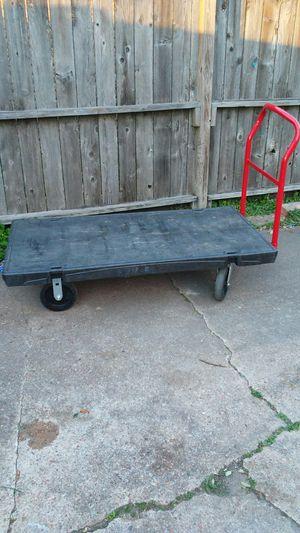 Rubbermaid flat cart for Sale in Houston, TX