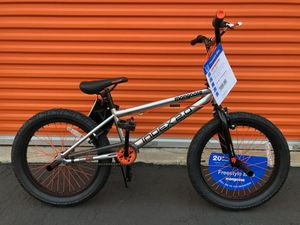 "Mongoose Index 2.0 20"" Freestyle Bike, Silver for Sale in Garden Grove, CA"