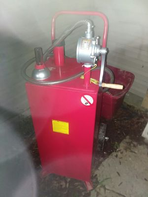 two 30 gal portable gas pumps for Sale in Grove City, OH