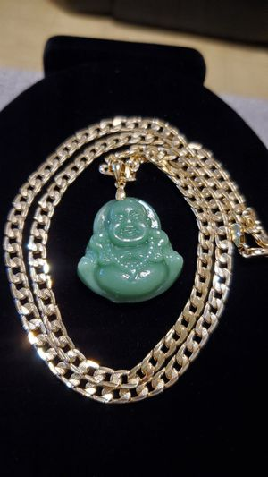 """Laminated Gold 26"""" Chain w/1.5""""Buddha for Sale in Los Angeles, CA"""