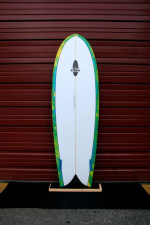 "New 6'0"" FOIL retro fish surfboard for Sale in Wesley Chapel, FL"