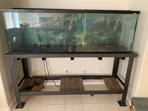 135 gallon fish aquarium!!! for Sale in Manteca, CA
