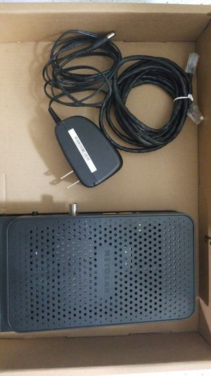 Netgear N600 WiFi Cable Modem and Router for Sale in Austin, TX