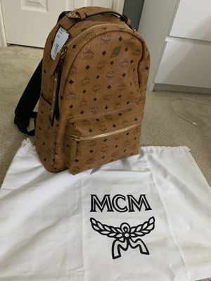 MCM Stark Backpack 40 Cognac Brand New Authentic for Sale in Grand Prairie, TX