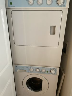 Ge stackable washer and dryer for Sale in Hoboken, NJ