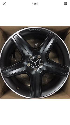 20 inch OEM Mercedes Benz AMG Factory 2018 G63 G55 G500 G-Wagon powder black 2 wheels for Sale in Washington, DC