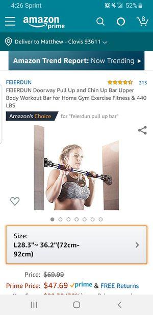 New Feierdun Doorway Pull up and Chin Bar for Sale in Clovis, CA