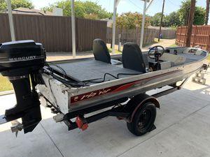 1987 Fisher Hawk 35hp Mercury nice!!! for Sale in Sachse, TX