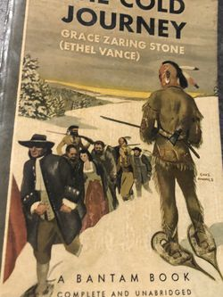 Used Grace Zaring Stone Ethel Vance THE COLD JOURNEY 1946 Vintage Paperback Book for Sale in Largo,  FL