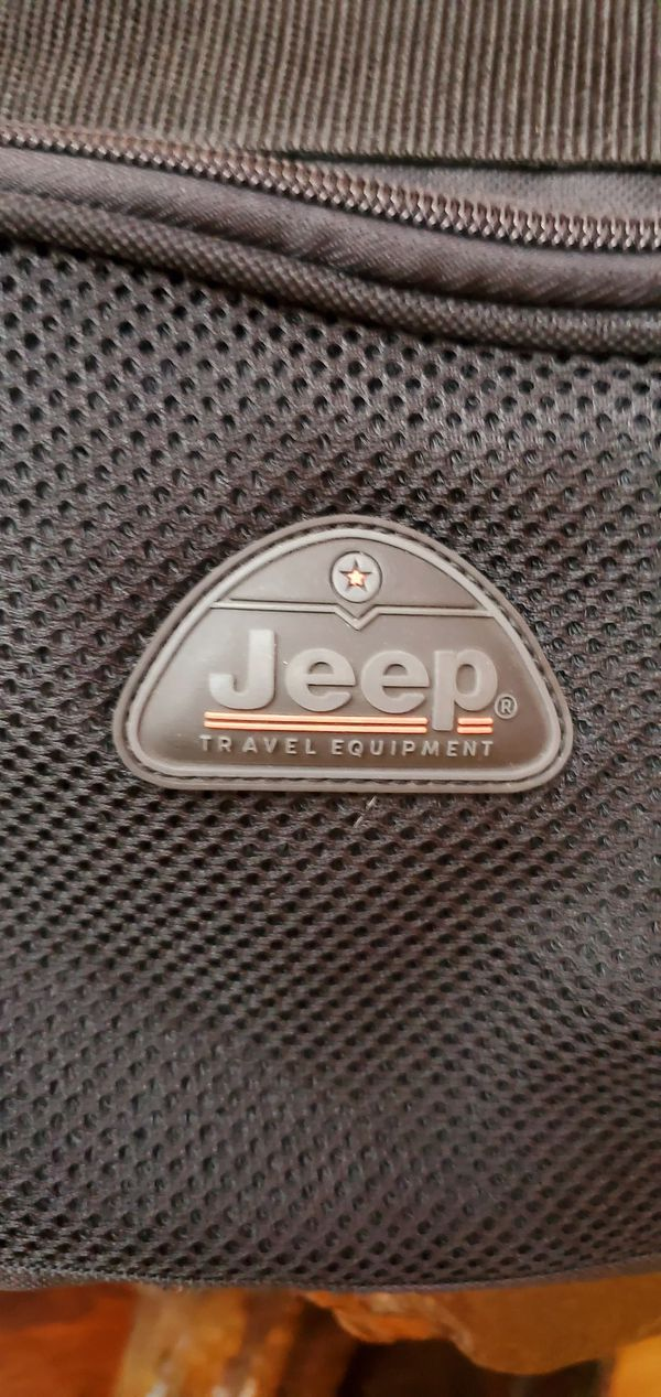 Jeep Equipment Authentic Duffel Tote Bag Carry On GYM Travel Luggage Duffle