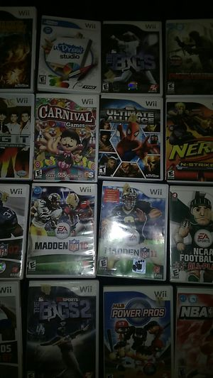 Lot of wii games for Sale in Columbus, OH