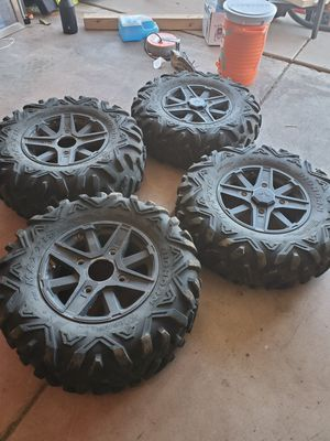 Maxxis Bighorn wheels and tires for Sale in Glendale, AZ