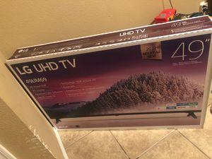 """LG Ultra HD TV 4k 49"""", New never opened for Sale in Somerton, AZ"""