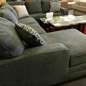 1039 Jayceon Steel LAF Sectional $39 down payment for Sale in Arlington, VA