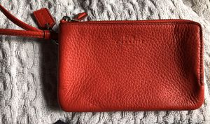 New! Coach leather wallet wristlet! for Sale in Barrington, IL